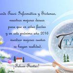 Felices Fiestas y Prospero año Nuevo!!