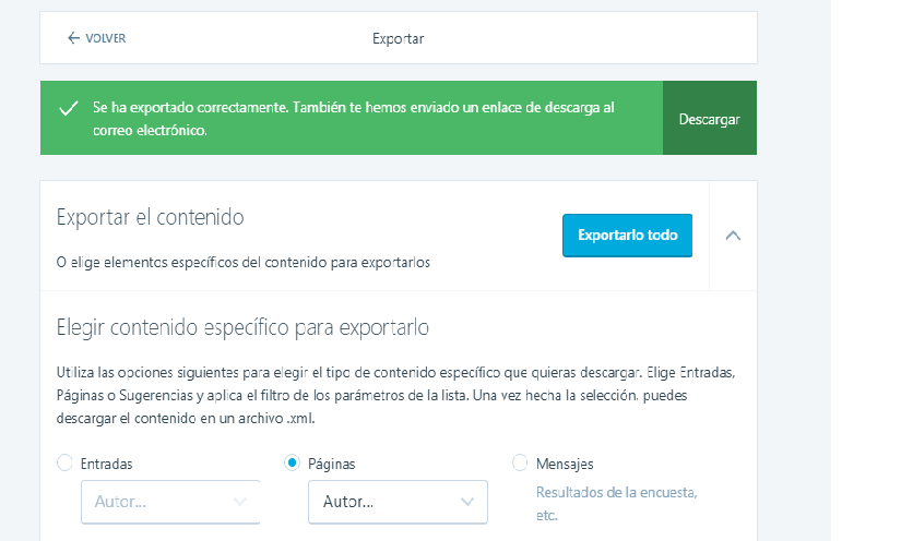 migrar tu blog en wordpress a tu hosting
