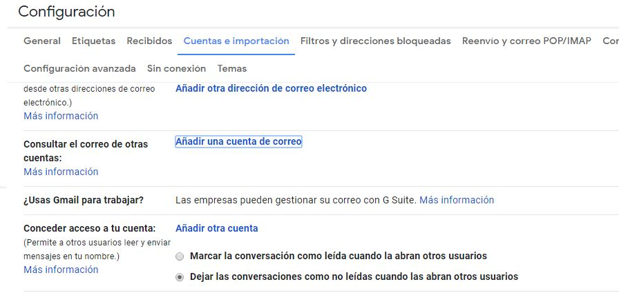 Instalar tu correo profesional en gmail